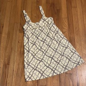 Mini dress / long tank banana republic szM